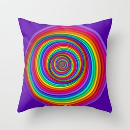 .colors everywhere -2- Throw Pillow