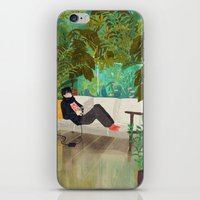 jungle iPhone & iPod Skins featuring jungle by Lara Paulussen