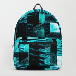 sea collage Backpack