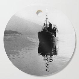 Fjord ship Cutting Board