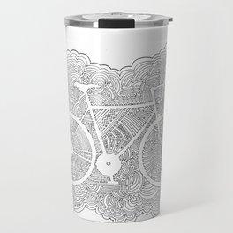 Bike Drawing Meditation Travel Mug