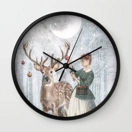 Deercorate Wall Clock