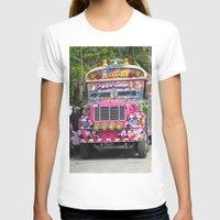 diablo T-shirts featuring Diablo rojo bus by lennyfdzz