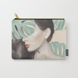 Monstera Suara Carry-All Pouch