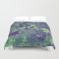 chemistry Duvet Covers featuring Chemistry by Adaralbion