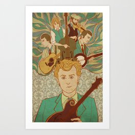 Punch Brothers 2 Art Print