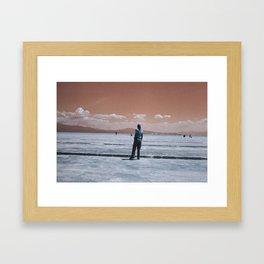 Candela en Salinas Framed Art Print
