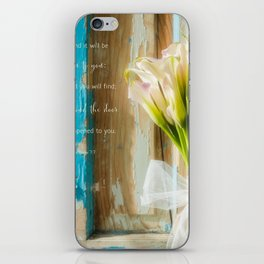 Calla Welcome* iPhone Skin