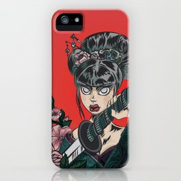 Onna-bugeisha iPhone Case