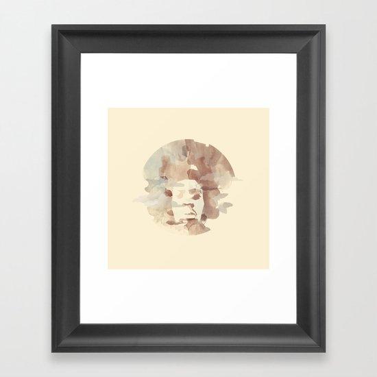 Black Power Framed Art Print