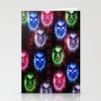 monsters Stationery Cards featuring Monsters by CLE.ArT.
