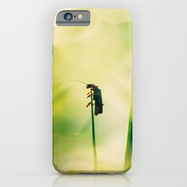 at high altitude iPhone Case