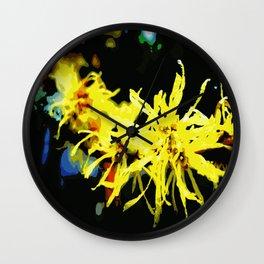 Witch Hazel Wall Clock