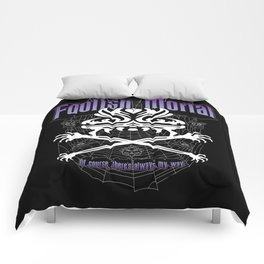 Foolish Mortal Comforters