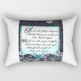 Play a Rhapsody Rectangular Pillow