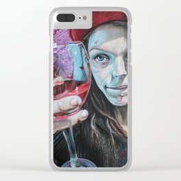 Heres to you Clear iPhone Case