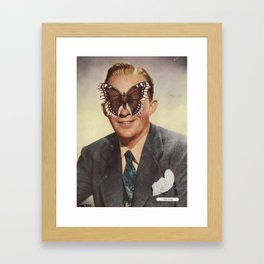 BING CROSBY.  (PIN-UPS). Framed Art Print