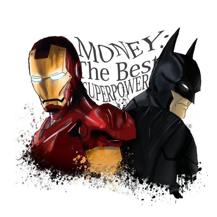 Money: the best superpower Comforters