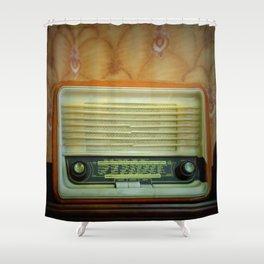 Video killed the radiostar Shower Curtain