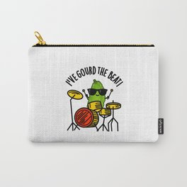 I've Gourd The Beat Cute Drummer Veggie Pun Carry-All Pouch