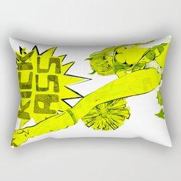 SUPER HIGH KICK!! Rectangular Pillow