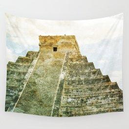 Chichen Itza pyramid Wall Tapestry
