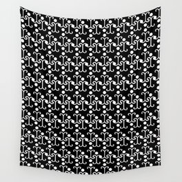Lattice Pattern (White) Wall Tapestry