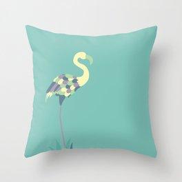 Flamingo Your Own Way Throw Pillow