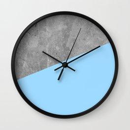 Geometry 101 Blue Raspberry Wall Clock