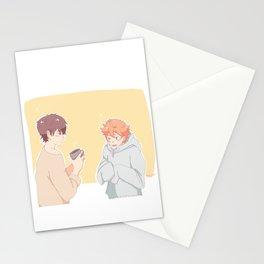 mornings kagehina Stationery Cards