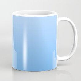 Blauer Ombré - Blue Gradient Coffee Mug