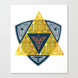 symbol computer game sign trinity Canvas Print