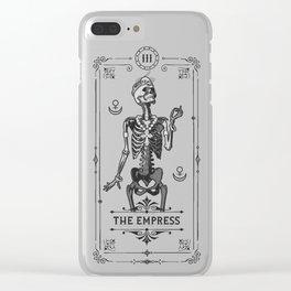 The Empress III Tarot Card Clear iPhone Case