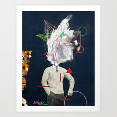 the designer Art Print