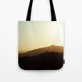 Sunset from Parc Guell, Barcelona. Tote Bag