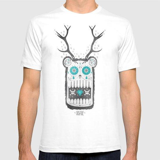 SALVAJEANIMAL MEX cuernitos T-shirt