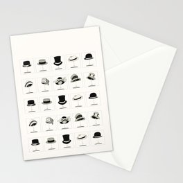 Hats of the 1920's Stationery Cards