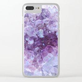 Crystal Gemstone Clear iPhone Case
