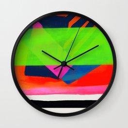 Be Scene Green Wall Clock