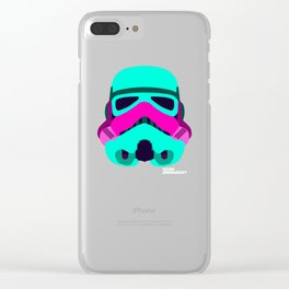 Minimal Force: Stormtrooper Clear iPhone Case