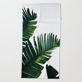 Palm Leaves 16 Beach Towel