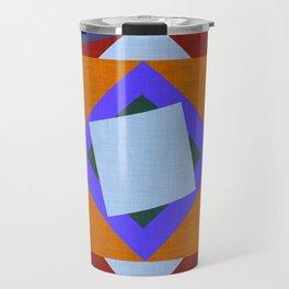 Kilim flower Purple  #homedecor #midcenturymodern #midcentury Travel Mug