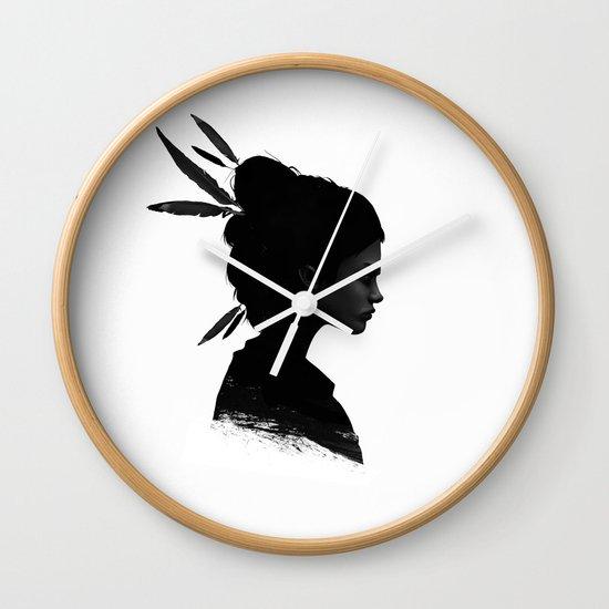 Never Never Wall Clock