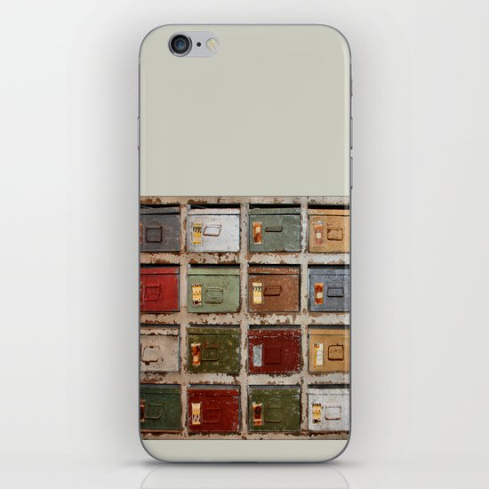 Drawers iPhone & iPod Skin