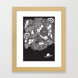 Strange New Land Framed Art Print
