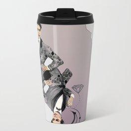King of Carbon Metal Travel Mug
