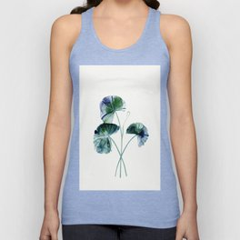 Water lily leaves Unisex Tank Top
