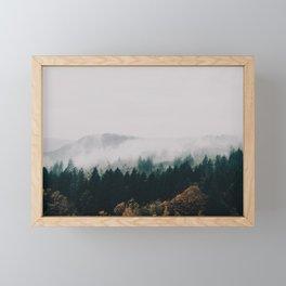 Forest Fog Framed Mini Art Print