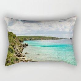 Tropical Coast Rectangular Pillow