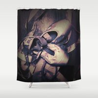 passion Shower Curtains featuring Passion by Elina Cate